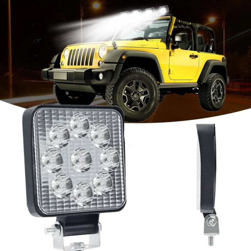 Proiector LED Auto Off Road, 27 W, 3510 LM, 10-30 V, IP67