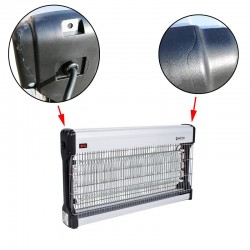 Aparat UV profesional antiinsecte 60W, antitantari, acoperire pana la 400 mp, carcasa aluminiu, resigilat