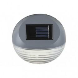 Aplica Solara LED pentru suprafata fixa, diametru 11 cm, Gri