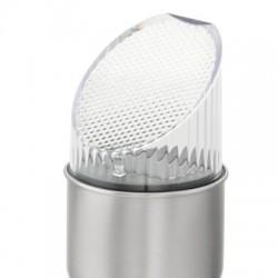 Set 6 torte solare inox iluminate LED, inaltime 25 cm
