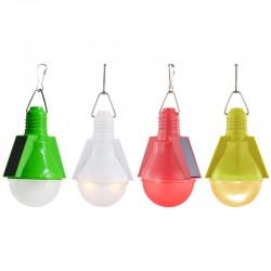 Set 4 bucati lampa decorativa din plastic pentru agatat, LED Solar