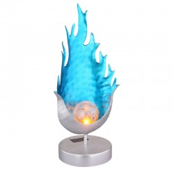 Decoratiune solara tip flacara, LED 0.06W, efect flacara reala, protectie IP44