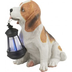 Lampa decorativa Solara LED Catelus, Plastic