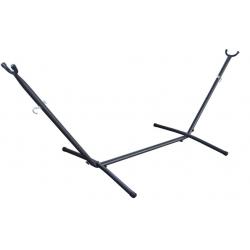 Suport cadru hamac, dimensiune 270x105 cm, metalic, greutate maxima suportata 200 kg, negru