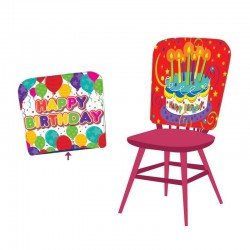 Husa scaun party, mesaj...