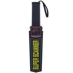 Detector de metale portabil, sensibilitate ridicata, alimentare baterii, negru