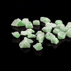 Pietricele fosforescente verzi pentru decor glow, granulatie 15-25 mm, 200 g