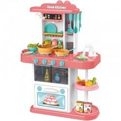 Bucatarie multifunctionala pentru copii, efecte sonore gatit, lumini, apa chiuveta, 72x51.5x23.5 cm