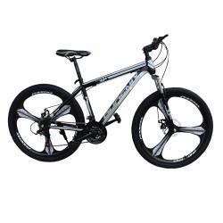 Bicicleta MTB 26 inch, schimbator Shimano 21 viteze, frane pe disc, cadru otel, Tornado