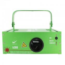 Proiector laser 100 mW, pentru petreceri, lumina rosie, senzor sunet