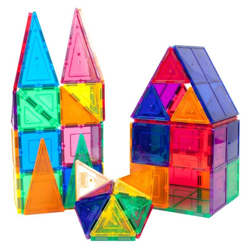 Set magnetic de constructie cu 30 piese, multicolor, varsta 3+, ProCart