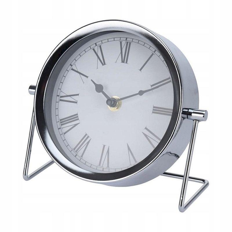 Ceas de masa metalic, diametru 16 cm, mecanism Quartz
