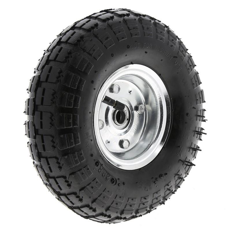 Roata de rezerva pneumatica 3.5 inch, model carucior gradina compatibil TC2145