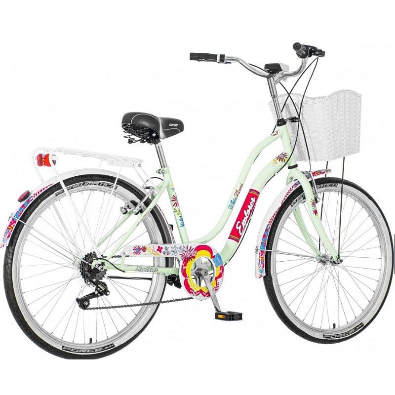 Bicicleta dama, 26 inch, schimbator viteze Power, cadru otel, V-brake, resigilata