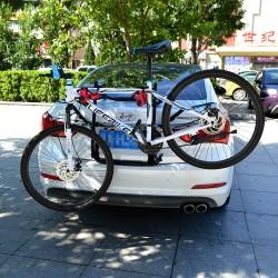 Suport auto pentru 3 biciclete, montare portbagajul masinii, maxim 45 kg