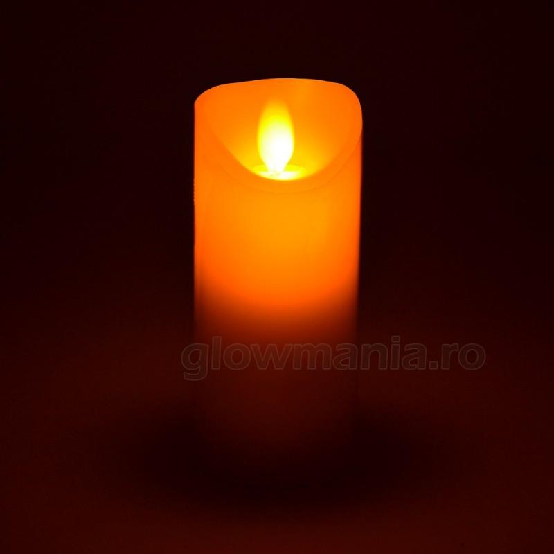 Lumanare Decorativa Cu Led Imitatie Flacara Glowmania Ro