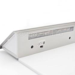 Numar de poarta cu lampa solara LED LED-uri