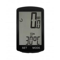 Kilometraj wireless pentru bicicleta, 19 functii, display LED, oprire / pornire automata