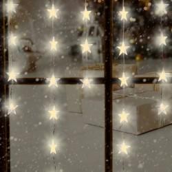 Perdea de lumini cu 50 stelute LED, pentru interior, lungime ghirlanda 1,35 m
