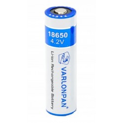Acumulator Li-Ion 18650, capacitate 8800 mAh, maxim 4.2 V