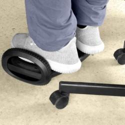 Suport ergonomic pentru picioare, inaltime ajustabila, unghi 40 grade, balansare, anti-alunecare