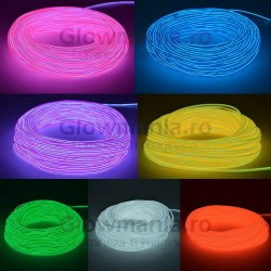Fir electroluminescent neon flexibil EL wire 2,3 mm
