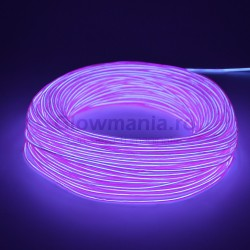 Fir electroluminescent neon flexibil EL wire 3,2 mm