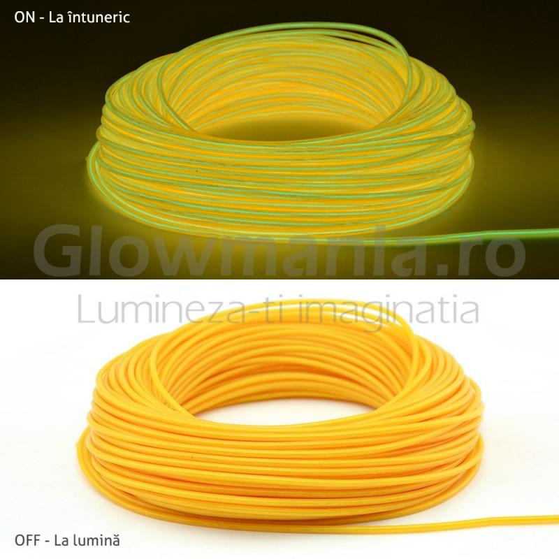 Fir electroluminescent neon flexibil EL wire 5 mm