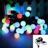 Instalatie de pom pentru interior 40 LED-uri multicolore