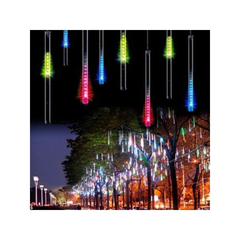 Turturi luminosi LED-uri curgatoare multicolore