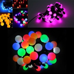 Instalatie LED pentru decoratiuni exterioare 50 bulbi