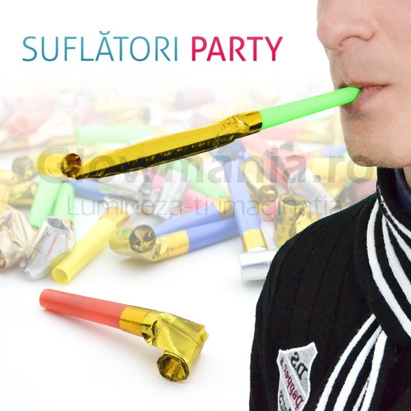 Pachet 100 suflatori party copii