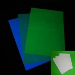 Hartie fosforescenta A4 pentru imprimante inkjet