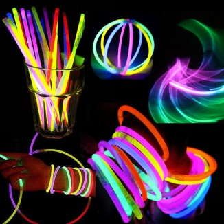 Betisoare bratari luminoase Glow Sticks multicolore