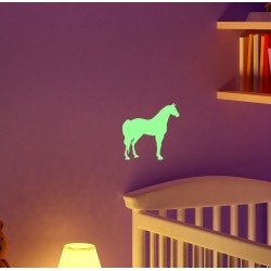 Sticker luminiscent decorativ Cal