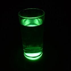 Pahar de sticla luminescent glow
