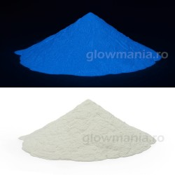 Pigment fosforescent albastru