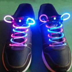 Sireturi luminescente cu LED bicolor