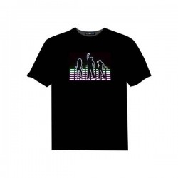 Tricou luminos cu egalizator Party People