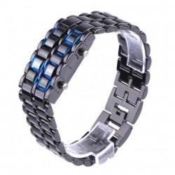 Ceas cu LED Iron Samurai LAVA blue